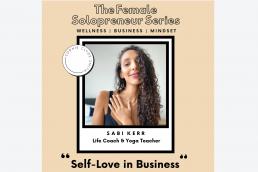 female solopreneur video series